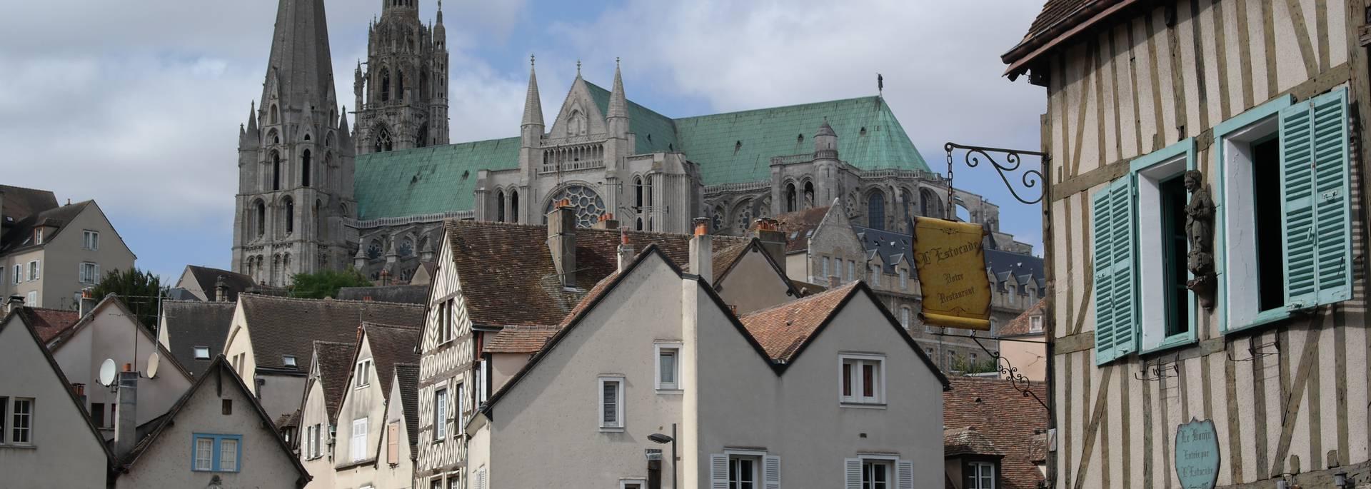 Basse ville Pont Bouju Cathédrale