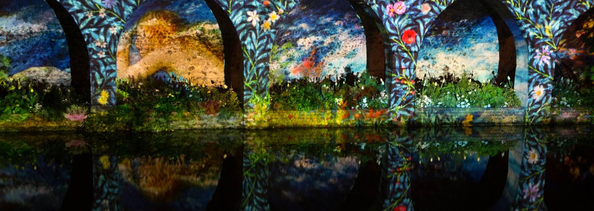 Arcade Saint-Hilaire pendant Chartres en lumières