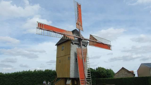 Visite d'un moulin à vent