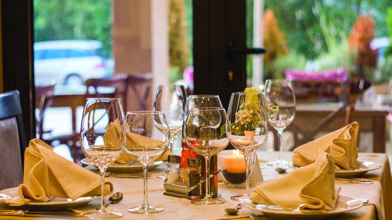 Dîner dans un restaurant de Chartres