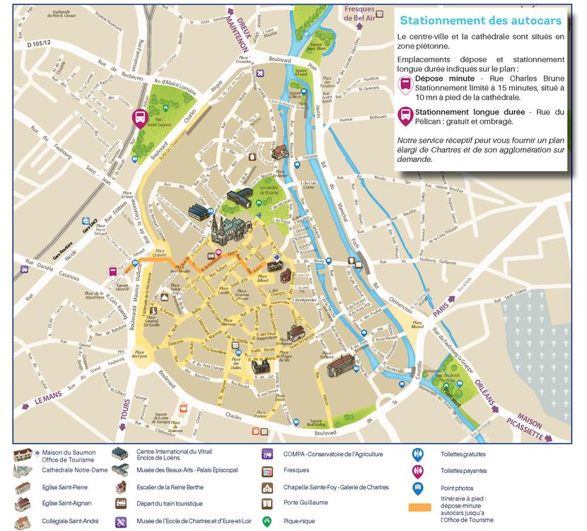 Plan de Chartres pour les groupes