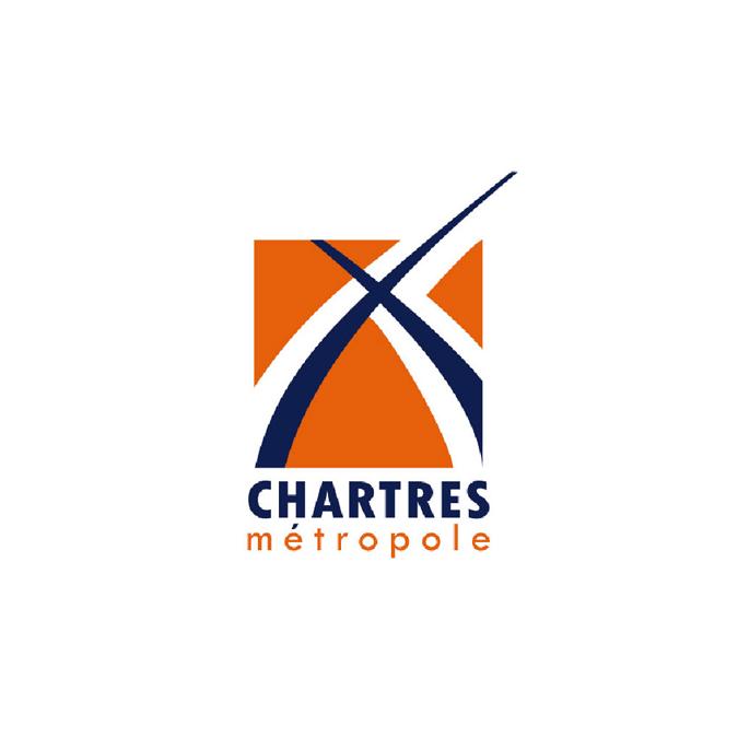 Logo - Chartres Métropole